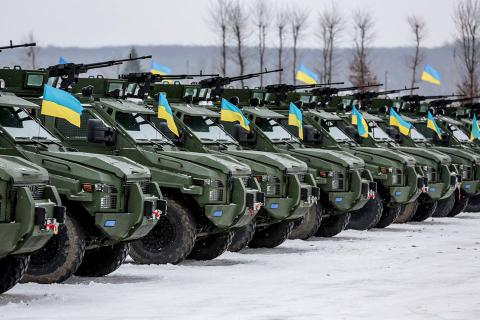 Ukraine received more than 2,500 units of weaponry, military hardware since start of anti-terror operation