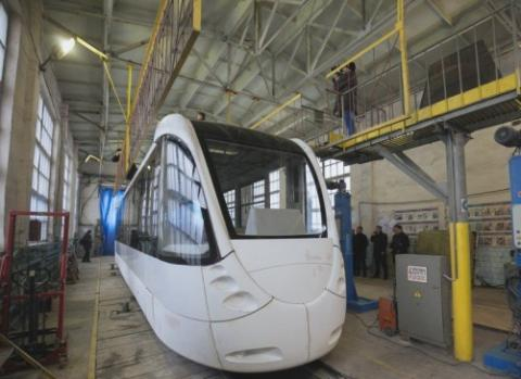 Innovative Ukrainian tram will save 30% electricity