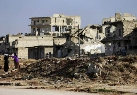 Aleppo rebels call for immediate truce
