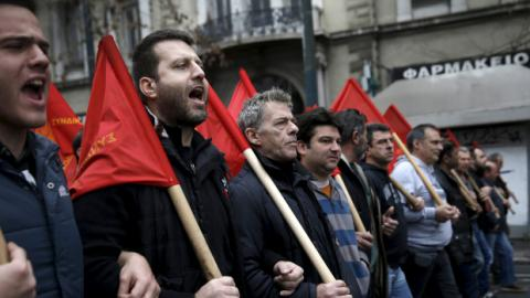 Greeks strike against austerity cuts and new labor reforms