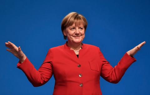 Support for Merkel grows ahead of the 2017 elections