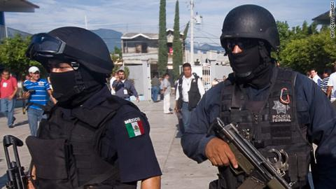 Mexican police found severed heads found during Christmas