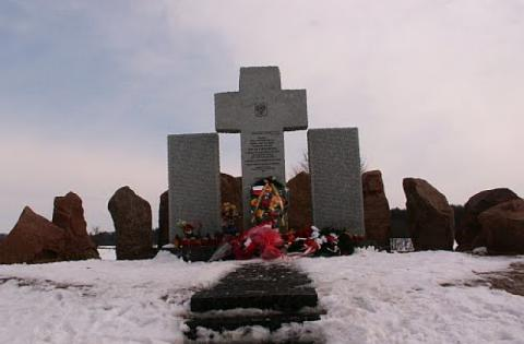 Polish memorial in Lviv vandalised; criminals wanted by Ukrainian authorities