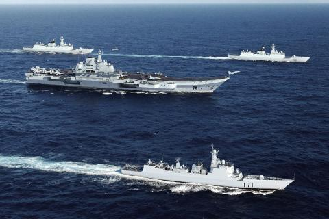 Taiwan on alert as China ship enters Taiwan Strait