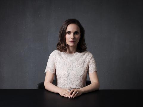 Natalie Portman unveils