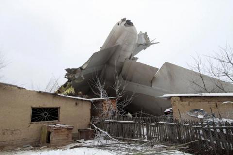 Turkish Boeing 747 falls in Kyrgyzstan's village, kills at least 37 (VIDEO, PHOTO)