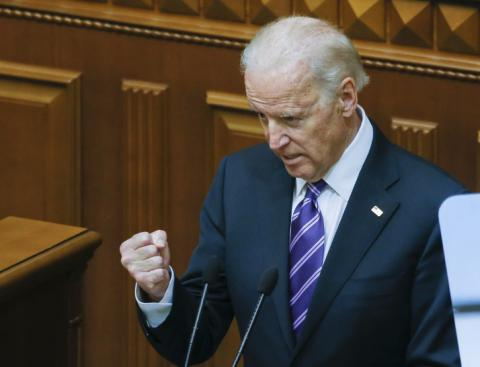 Biden in Kyiv says world must stand against Russian aggression