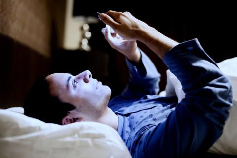 One in five young people lose sleep over social media