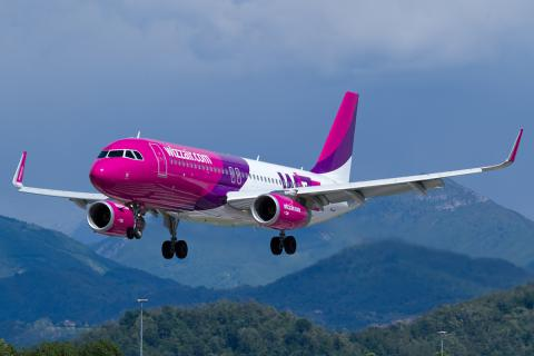 Wizz Air launches flight from Ukrainian Lviv