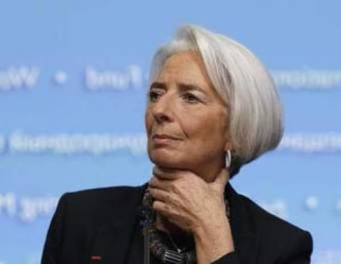 IMF's Lagarde warns of the middle class crisis in Davos