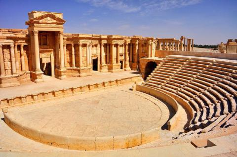 ISIS destroys ancient site in Palmyra