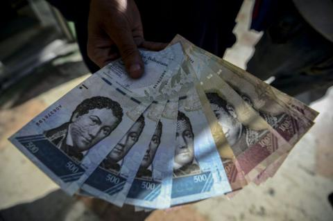 Venezuela faced 800 percent inflation