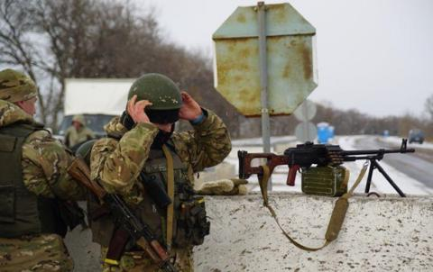 Donbas militants shelled Ukrainian forces