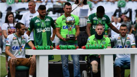 Chapecoense backs with its first match after the crash