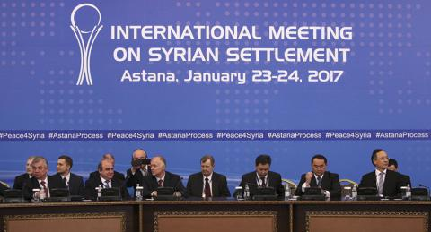 "Syrian government negotiator labells Astana talks a ""success"""