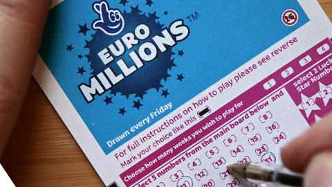 Irishman won €88.5m jackpot
