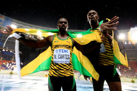"""No """"triple triple"""" as Bolt loses one Olympic gold medal"""