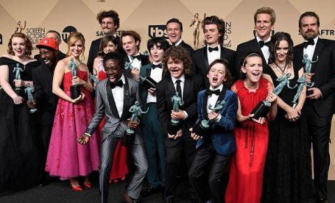 Netflix's supernatural thriller 'Stranger Things' wins SAG award (VIDEO)