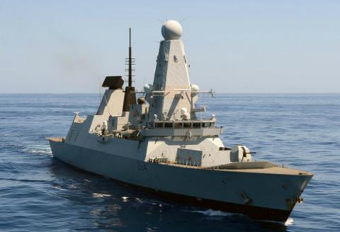 UK HMS Diamond - Type 45 Destroyer - to set sail for Ukrainian shores