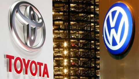 Volkswagen overtakes Toyota as world's biggest automaker