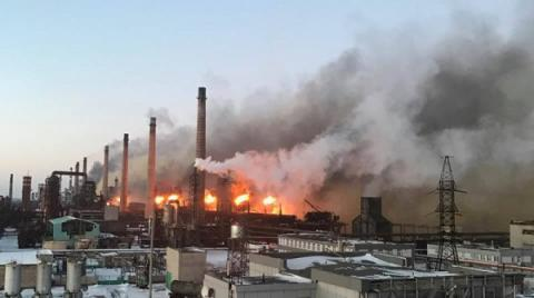 To heat militant-shelled Avdiyivka with coke gas, Coke Plant suspends production