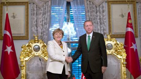 Merkel and Erdogan met in Ankara