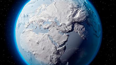When Ice Ages will end can now be predicted with a simple rule