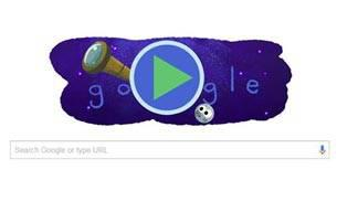 Today's adorable Google Doodle celebrates the discovery of seven Earth-sized planets
