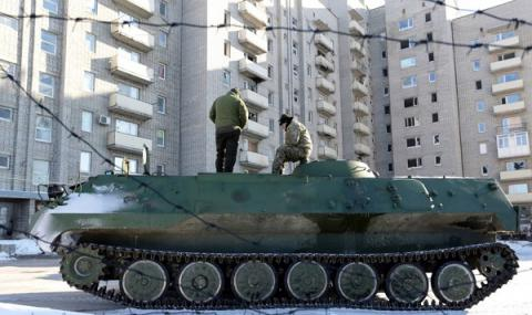 Russia-backed militants keep on shelling Avdiivka in eastern-Ukraine