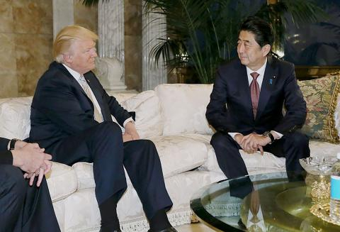 Japan PM Abe and Trump to hold two-day summit