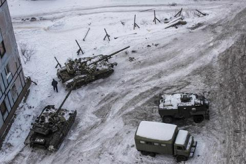 Ukraine's tanks not participate in Donbas battles, kept in reserve - Defense Ministry