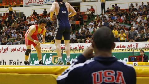 Iran bars U.S. wrestlers from Freestyle World Cup