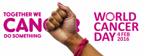 We can, I can - take action on World Cancer Day