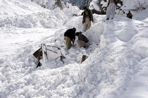 At least 107 killed by avalanches caused by heavy snow in Afghanistan