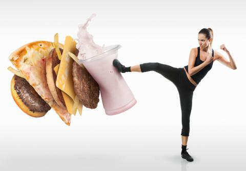 Diet quality improves fitness among the fittest
