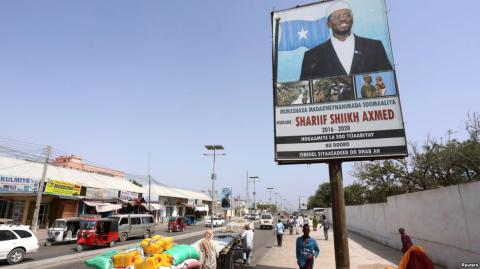 Somali to hold presidential election in airport