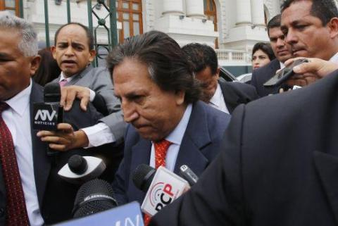 Peruvian President asked Trump to deport fugitive ex-leader Alejandro Toledo