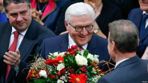 Ukrainian PM congratulates Steinmeier on his election as President of Germany