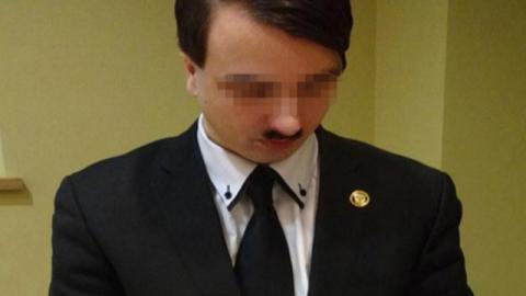 Hitler lookalike detained in Austria