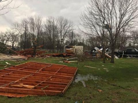 At least 6 tornadoes sweep through Texas, US (VIDEO)