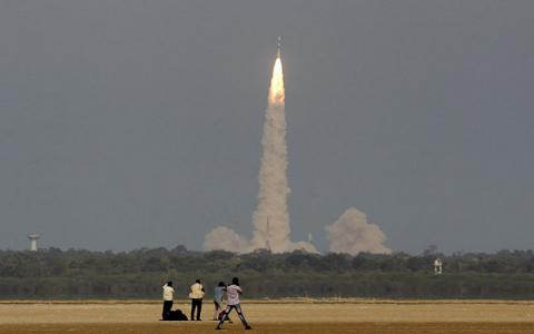 India successfully launches 100 satellites into orbit aboard single rocket