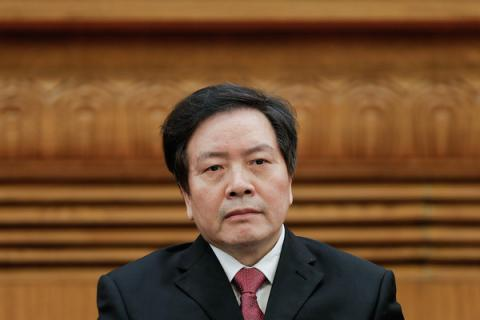 Northern Chinese province's ex-chief sentenced to 15 years in prison for corruption