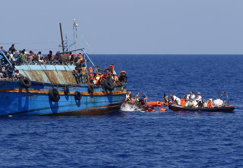 Mediterranean death toll rises despite aid