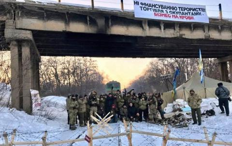 Ukrainian activists declare intention to continue their blockade of Donbas