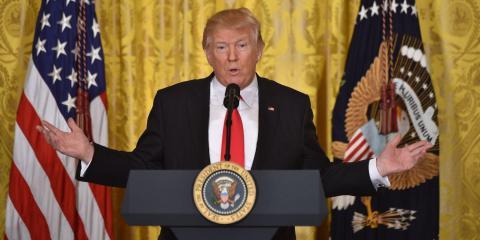 """Trump blamed media in """"dishonesty"""""""