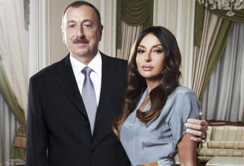 Azerbaijan leader's wife becomes country's first vice president