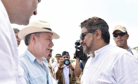 Colombian FARC to begin disarmament process