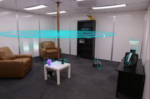 Disney Research Builds Prototype Living Room With