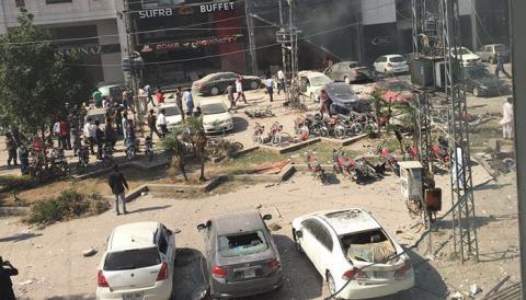 Explosion kills 8 in Pakistani city of Lahore (VIDEO, 18+)
