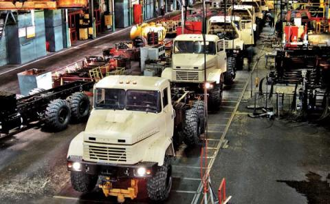 Ukraine's heavy truck maker AvtoKrAZ reports 4.6-fold rise in loss in 2016